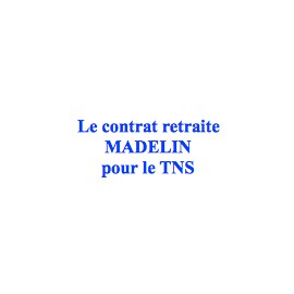 Les contrats Madelin